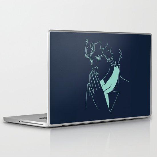 sherlock h Laptop & iPad Skin