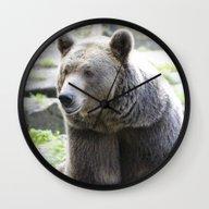 Bear 1115A Wall Clock