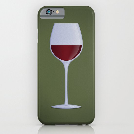 Red Wine iPhone & iPod Case
