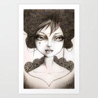 Dora Art Print