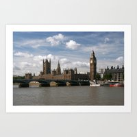 Houses Of Parliament, Lo… Art Print