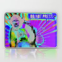 Press the button. Laptop & iPad Skin
