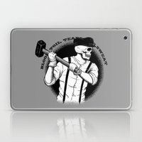 Blood, Toil, Tears, And … Laptop & iPad Skin