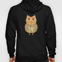 Woodland Owl In A Tree Hoody