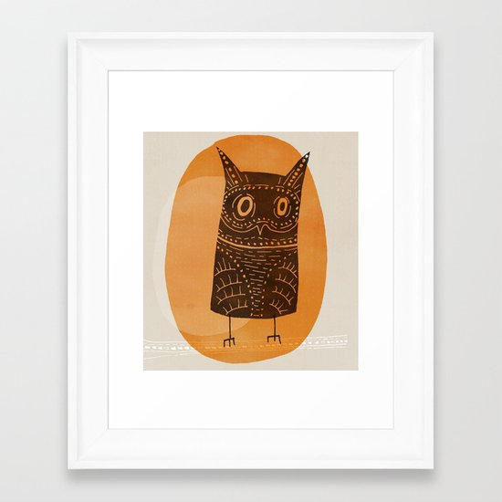 This is my owl Framed Art Print