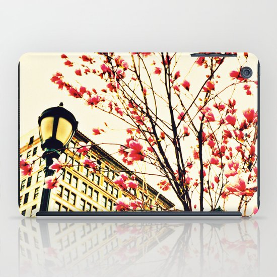 street blossoms iPad Case