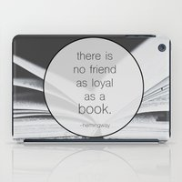 Books: No Friend As Loya… iPad Case