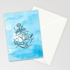 Live A Salty Life - Blue Stationery Cards