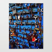 Unlock Me Canvas Print