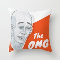 The OMG Throw Pillow