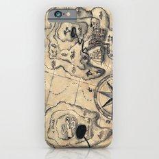 Old Nautical Map Slim Case iPhone 6s