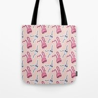 sticker monster pattern 7 Tote Bag