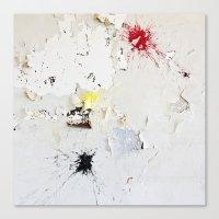 Splat Canvas Print