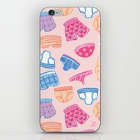 Underwear Pattern iPhone & iPod Skin