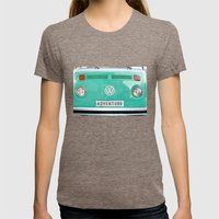 Adventure Wolkswagen. Su… Womens Fitted Tee Tri-Coffee SMALL