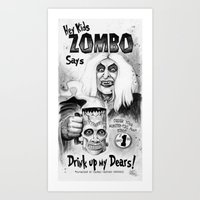 ZOMBO Art Print