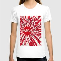 japan T-shirts featuring Japan by Danny Ivan