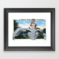 World Of Wonders Framed Art Print