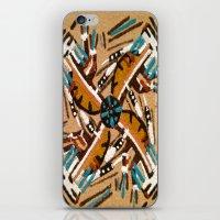 Indian Windmill design iPhone & iPod Skin
