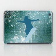 Snowboarding iPad Case