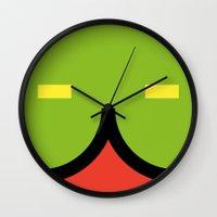 face 2 Wall Clock