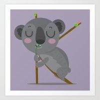 K is for Koala Art Print