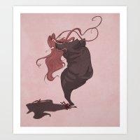 fat(fi)ness #1 Art Print