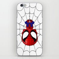 Web Slinger iPhone & iPod Skin