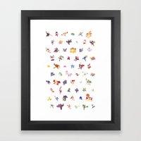 Smashing Framed Art Print