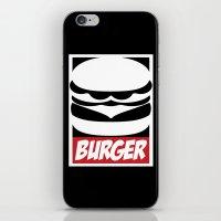 Obey Burger iPhone & iPod Skin