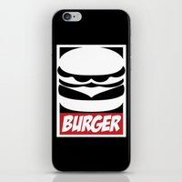 Obey Burger iPhone & iPod Skin