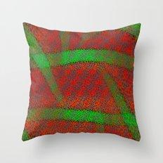 OrangeLimeSquash Throw Pillow