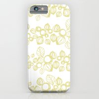 iPhone & iPod Case featuring Leafy Stripes  by Emma Wilson
