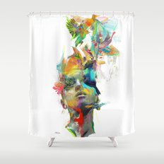 Dream Theory Shower Curtain