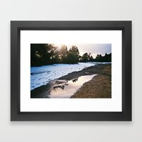 Beneath the Snow Framed Art Print