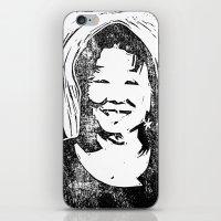 Eileen Stamp iPhone & iPod Skin