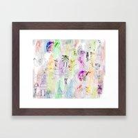 AppleJella Framed Art Print