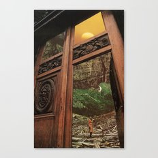 back to nature Canvas Print