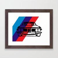 BMW E9 Framed Art Print