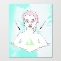 Acid Girl Canvas Print