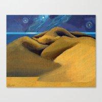 Tender Is The Night - Mi… Canvas Print