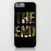 iPhone & iPod Case featuring The END by FAMOUS WHEN DEAD