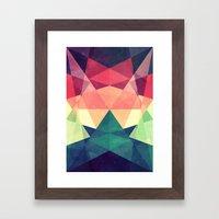 Looking at stars Framed Art Print