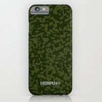 Comp Camouflage / Green iPhone 6 Slim Case