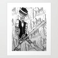 DESTROY Art Print