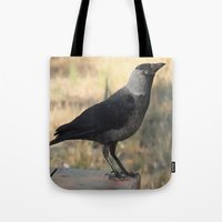 Side View Of A Wild Jack… Tote Bag