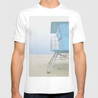 mood - minimalist Mens Fitted Tee White SMALL
