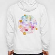 Summer Flowers With Gold… Hoody