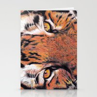 Tiger Close-up Stationery Cards