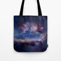 Galaxy Print Tote Bag